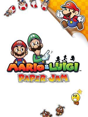 Cover for Mario & Luigi: Paper Jam.