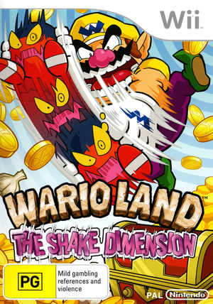 Cover for Wario Land: Shake It!.