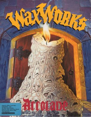 Cover for Waxworks.