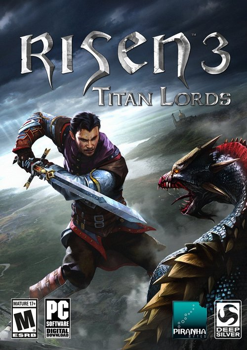 Cover for Risen 3: Titan Lords.