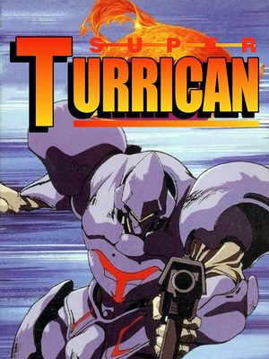 Cover for Super Turrican.