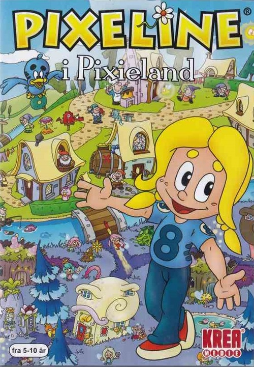 Cover for Pixeline: i Pixieland.
