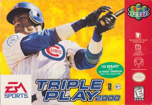 Cover for Triple Play 2000.