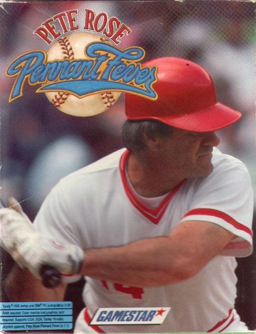 Cover for Pete Rose Pennant Fever.