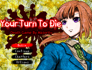 Cover for Kimi Ga Shine ~Death Game By Majority~.