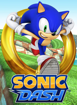 Cover for Sonic Dash.