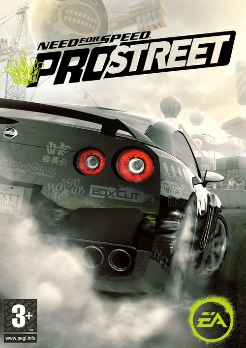 Cover for Need for Speed: ProStreet.