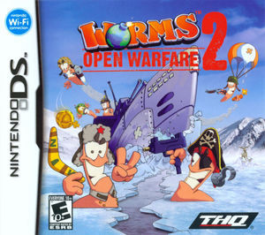 Cover for Worms: Open Warfare 2.