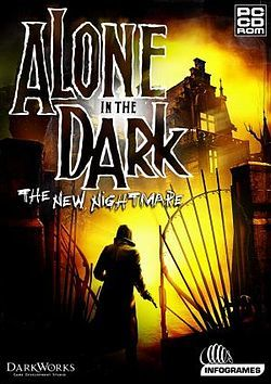 Cover for Alone in the Dark: The New Nightmare.