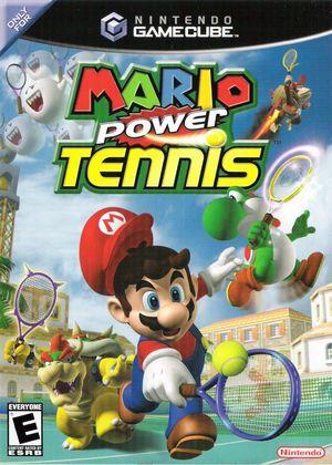 Cover for Mario Power Tennis.