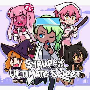 Cover for Syrup and the Ultimate Sweet.