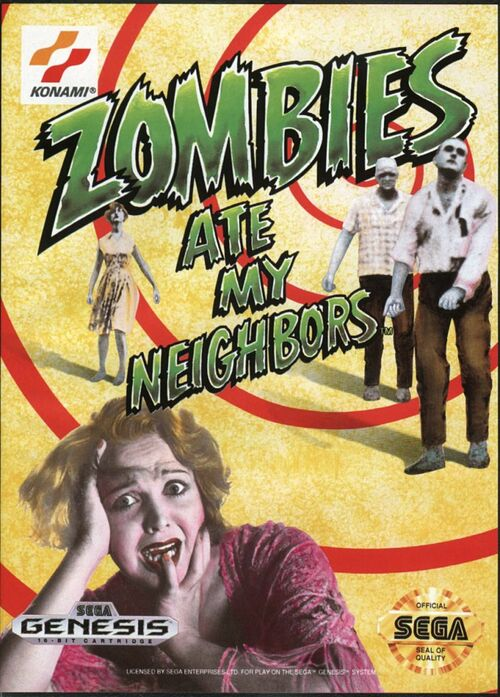 Cover for Zombies Ate My Neighbors.