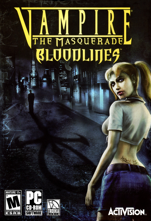 Cover for Vampire: The Masquerade – Bloodlines.