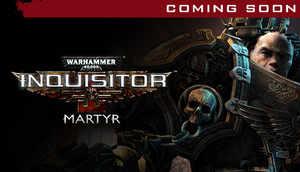 Cover for Warhammer 40,000: Inquisitor – Martyr.
