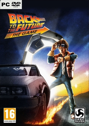 Cover for Back to the Future: The Game.