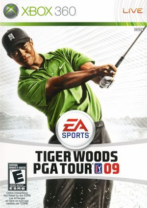 Cover for Tiger Woods PGA Tour 09.