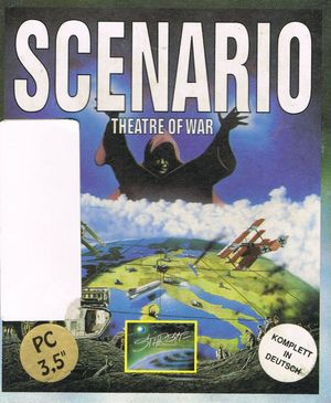 Cover for Scenario: Theatre of War.