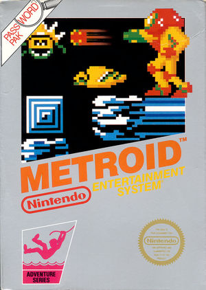 Cover for Metroid.