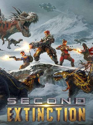 Cover for Second Extinction.