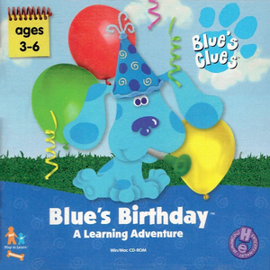 Cover for Blue's Birthday Adventure.