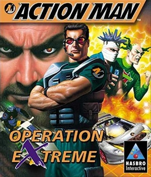 Cover for Action Man: Operation Extreme.