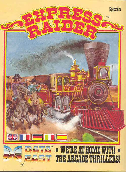 Cover for Express Raider.
