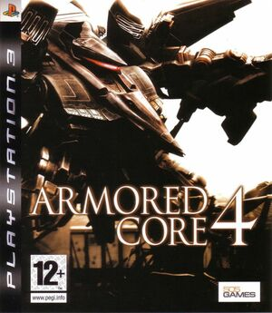 Cover for Armored Core 4.