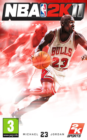 Cover for NBA 2K11.