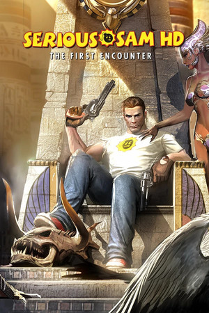 Cover for Serious Sam HD: The First Encounter.