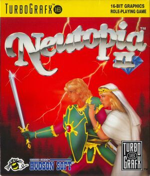 Cover for Neutopia II.