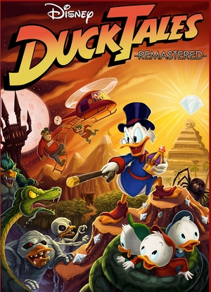 Cover for DuckTales: Remastered.
