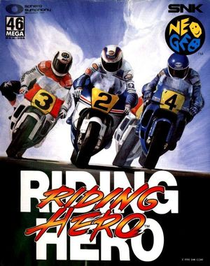 Cover for Riding Hero.