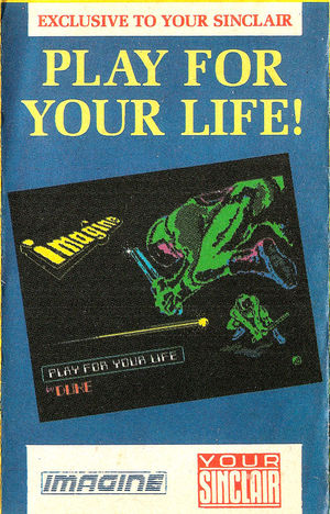 Cover for Play for Your Life.