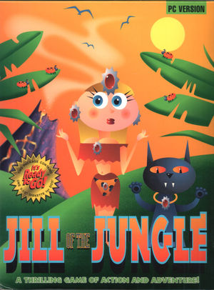 Cover for Jill of the Jungle.