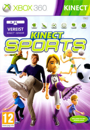 Cover for Kinect Sports.