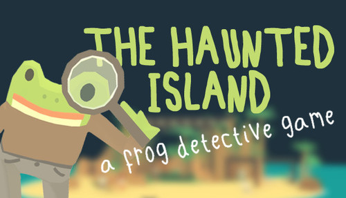 Cover for The Haunted Island.