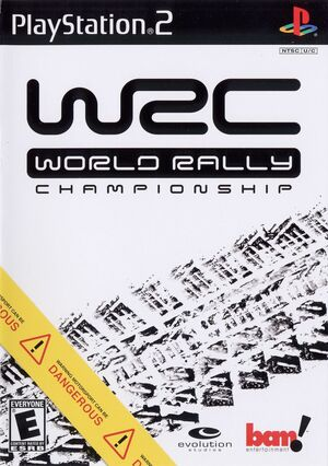 Cover for World Rally Championship.
