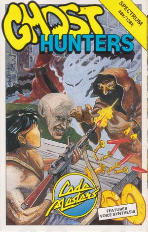 Cover for Ghost Hunters.