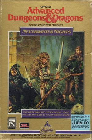 Cover for Neverwinter Nights.