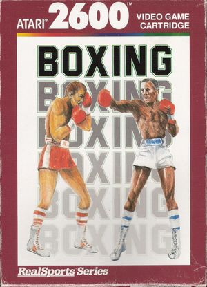 Cover for RealSports Boxing.