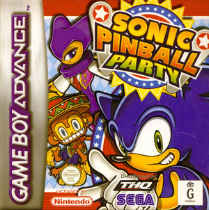 Cover for Sonic Pinball Party.