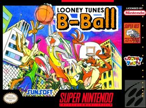 Cover for Looney Tunes B-Ball.