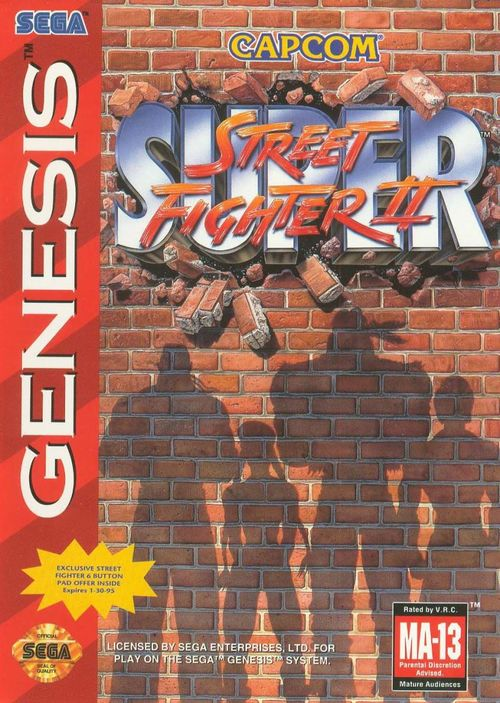 Cover for Super Street Fighter II.