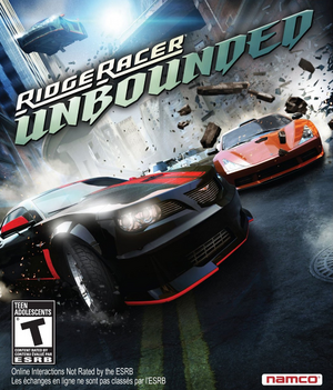 Cover for Ridge Racer Unbounded.