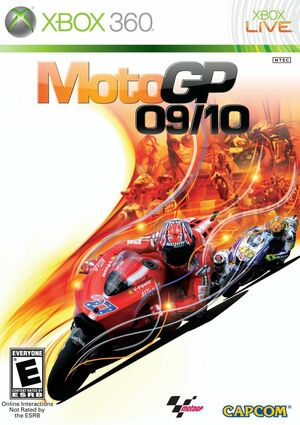 Cover for MotoGP 09/10.
