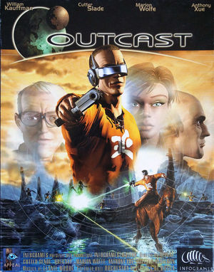 Cover for Outcast.