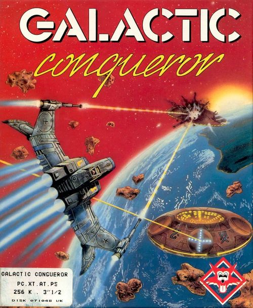 Cover for Galactic Conqueror.