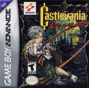 Cover for Castlevania: Circle of the Moon.