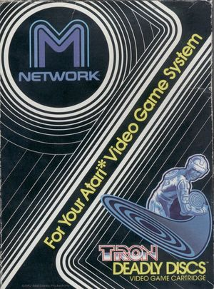 Cover for Tron: Deadly Discs.
