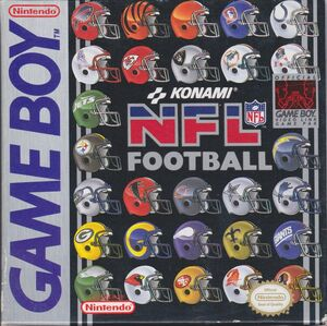 Cover for NFL Football.